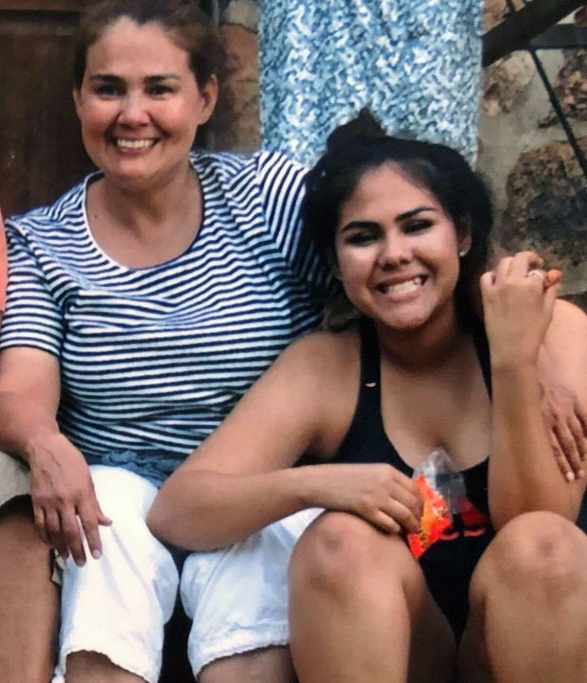 Rena Castro, left, is seen with her daughter, Erin Castro, in an undated photo. Erin Castro was killed Sept. 2, 2018, and her boyfriend, Josh Garcia, has bene charged with murder.