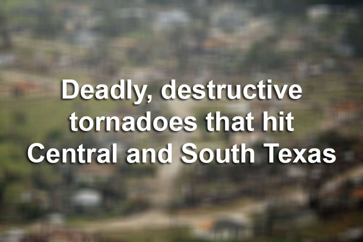 Tornadoes have injured hundreds and caused millions of dollars in damage in Texas. Here are some of the deadliest and most destructive tornadoes in the past 50 years in this area of the state. Click here to explore an interactive map of tornado activity in Central and South Texas.