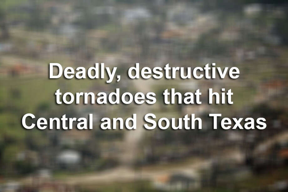 Tornadoes have injured hundreds and caused millions of dollars in damage in Texas. Here are some of the deadliest and most destructive tornadoes in the past 50 years in this area of the state.  Click here to explore an interactive map of tornado activity in Central and South Texas. Photo: FILE