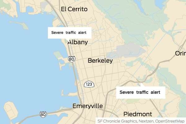 Richmond Traffic Map.Bay Area Traffic Live Traffic Reports And Maps Sfgate