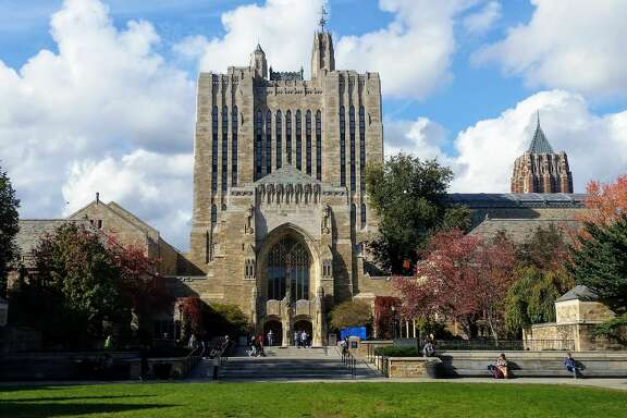 Sterling Memorial Library at Yale.
