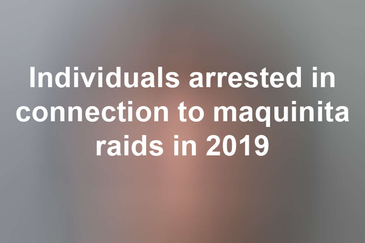 Keep scrolling to see Laredo-area individuals arrested in connection to illegal gambling in 2019.