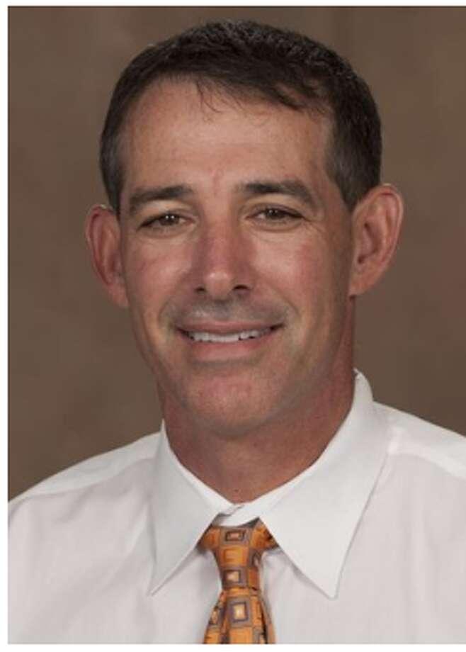 Texas men's tennis coach Michael Center. Photo: University Of Texas Athletics