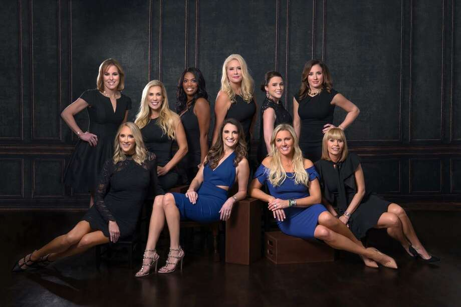 Ladies participating in the Giving Goes Glam Gala in April include; Top Row left to right Debbie Sukin, Missy Herndon, Perisha Burnham, Ty Tillman, Stacey Fontenot, Jennifer Colerick. Row 2 left to right Amy Torres, Emily Wilcox, Nicole Murphy, and Bobbi Jo Miller. Photo: Courtesy Photo