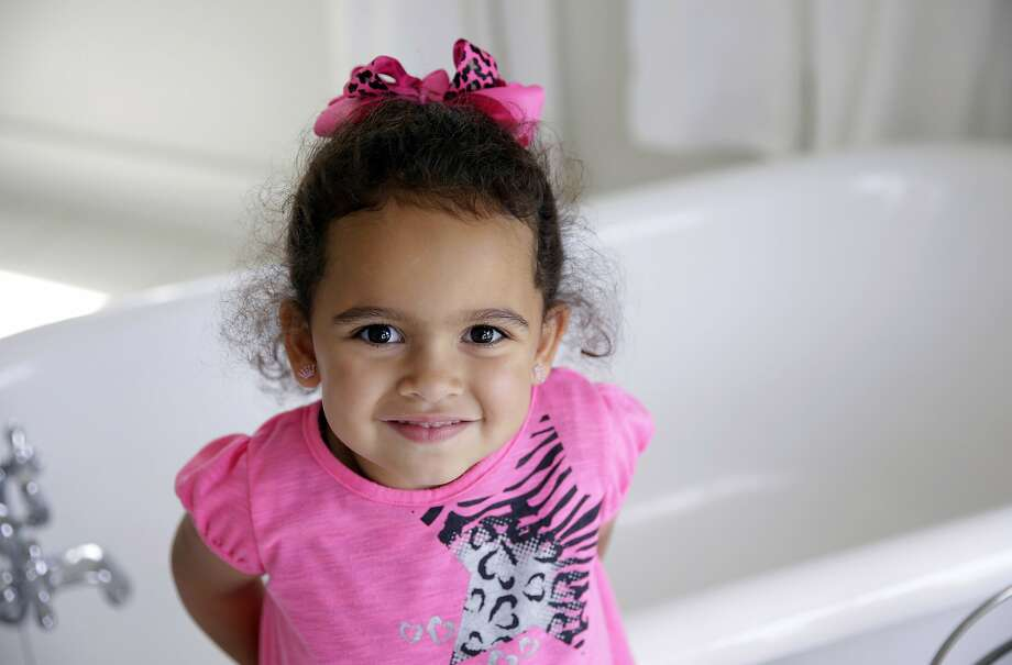 In 2013, the U.S. Supreme Court ruled Veronica, then 3, could remain with her foster family. Photo: Mike Simons / Associated Press 2013