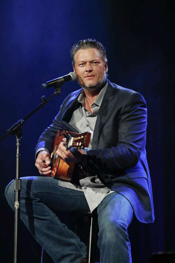 Blake Shelton performs at the 2018 Nashville Songwriter Awards at Nashville's Ryman Auditorium in September 2018. Photo: Al Wagner / Invision/AP / 2018 Invision