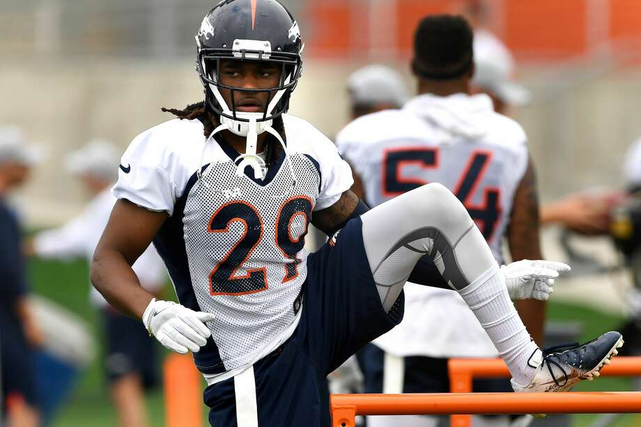 PHOTOS: NFL's best available free agents  ENGLEWOOD, CO - JULY 29: Defensive back Bradley Roby #29 stretching on day 2 of Denver Broncos training camp at the UCHealth Training Center July 29, 2018 in Englewood, Colorado. (Photo by Joe Amon/The Denver Post via Getty Images) >>>See who's left in the NFL's free agency market during the 2019 offseason ...  Photo: Joe Amon/Denver Post Via Getty Images