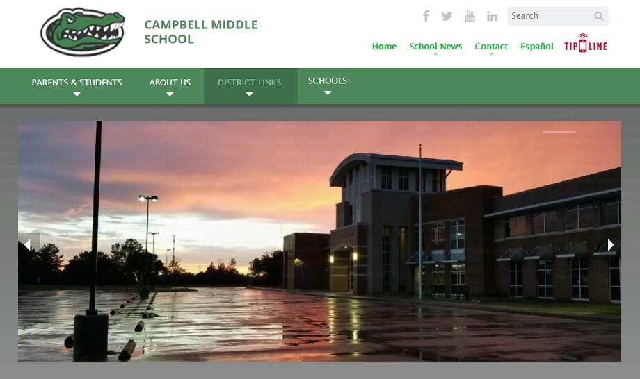 20. (tie) Campbell Middle School, Cypress-Fairbanks ISDFighting/Mutual Combat incidents during the 2017-18 school year: 53  >>>Click thru to see the Harris County schools that recorded the most fights during the 2017-2018 school year, according to the Texas Education Agency. Photo: Campbell Middle School Website Screengrab