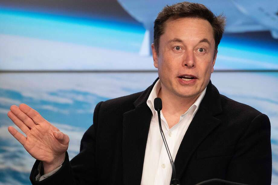 Legal experts say Tesla CEO Elon Musk probably won't face serious discipline for his tweet, but that the SEC wants it on the record in case there are more violations of its order. Photo: Jim Watson / AFP / Getty Images