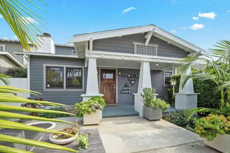 Singer-songwriter KT Tunstall is selling her charming beach bungalow in the heart of Venice, CA, for $3.15M. The three-bedroom home has been fully remodeled. Photo: Realtor.com