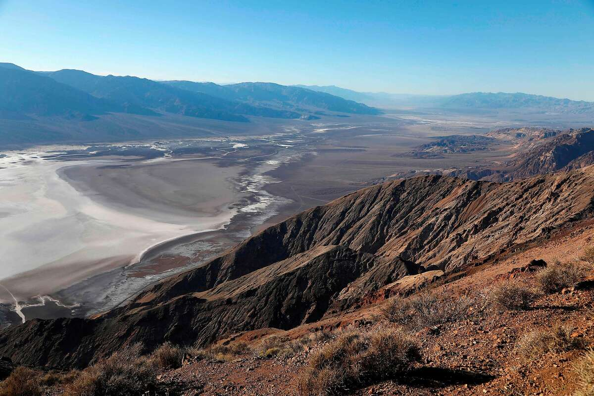 (FILES) In this file photo taken on February 14, 2017 a general view from Dante's View in Death Valley National Park in Death Valley, California. - The US Senate approved a landmark expansion of protected lands on February 12, 2019, the first major gain for conservationists in two years after repeated setbacks by the Trump administration. The Senate voted 98-2 in support of the Natural Resources Management Act, which gives new or strengthened protection from mining and encroachment to more than two million acres (810,000 hectares), expands eight national parks and historic sights, and adds new national monuments and heritage areas. (Photo by RHONA WISE / AFP)RHONA WISE/AFP/Getty Images