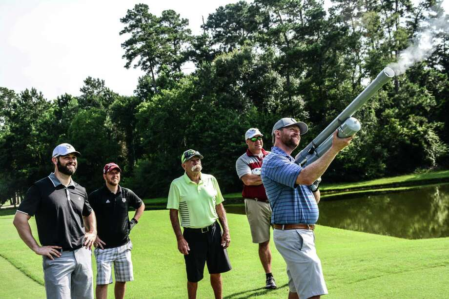 Young Life of Montgomery County is hosting its second annual Golf Classic Tournament at The Woodlands Country Club tournament course. The event is Monday, March 25 and begins with a shotgun start at 9 a.m. Here, photos show golfers from last year's event. Photo: Submitted Photos