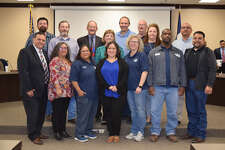 Both the Maintenance and Operations and the Information Technology teams were recognized at the most recent School Board meeting.