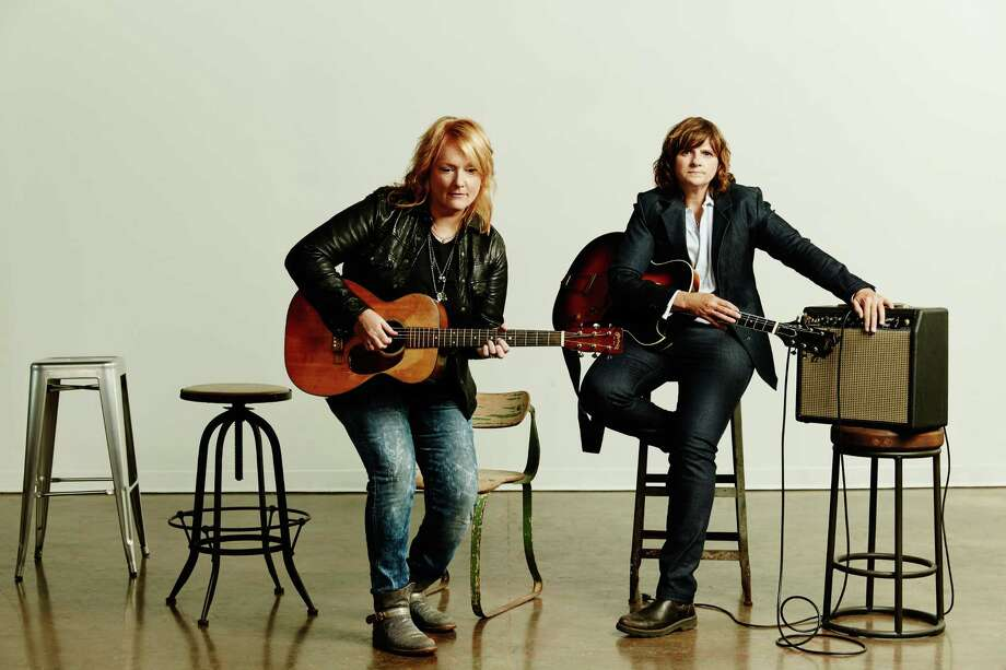 Indigo Girls are performing at the Warner Theatre on Saturday, March 23. Photo: Contributed Photo