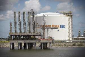 Empty tanker berths at the Golden Pass LNG natural gas import terminal in Sabine Pass, Texas, Sept. 10, 2014. The terminal was originally designed to import natural gas from Qatar. Now in 2019, it's being repurposed to export American gas to Latin America, Asia and Europe. Qatar Petroleum and Exxon Mobil said on Feb. 5, 2019, that they are making a big investment in American natural gas exports nearly two years after Saudi Arabia and its allies launched a trade embargo against Qatar. The export terminal will be built using turbines made by Houston oilfield service company Baker Hughes.