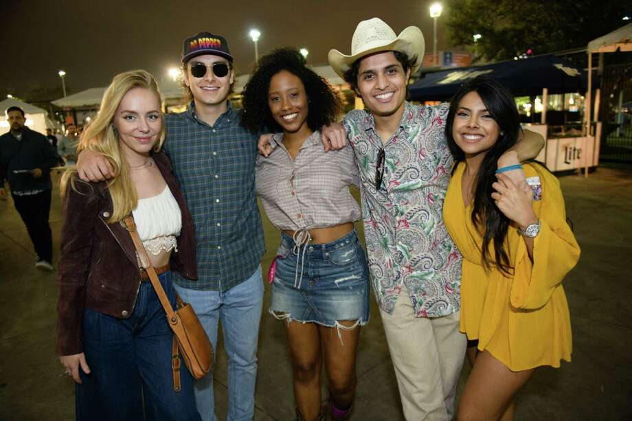 Fans at NRG Stadium to see Kings of Leon on Monday, March 12, 2019 Photo: Jamaal Ellis, Contributor / 2019