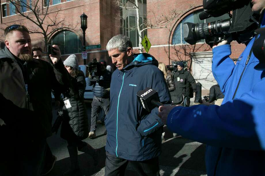 William Rick Singer leaves the federal courthouse in Boston after pleading guilty to charges related to college admission schemes, March 12, 2019. Singer allegedly fabricated athletic ?profiles? of students to submit with their college applications, which contained teams the students had not played on and fake honors not won. (Katherine Taylor/The New York Times) Photo: KATHERINE TAYLOR / NYTNS