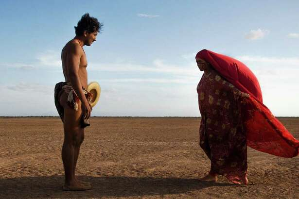 "Jose Acosta and Natalia Reyes in ""Birds of Passage."" (Blond Indian Films/IMDb/TNS)"