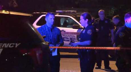 A man who appeared to be around 50 years old was found dead late Tuesday in the street of a south Houston neighborhood. Police have not been able to identify him.