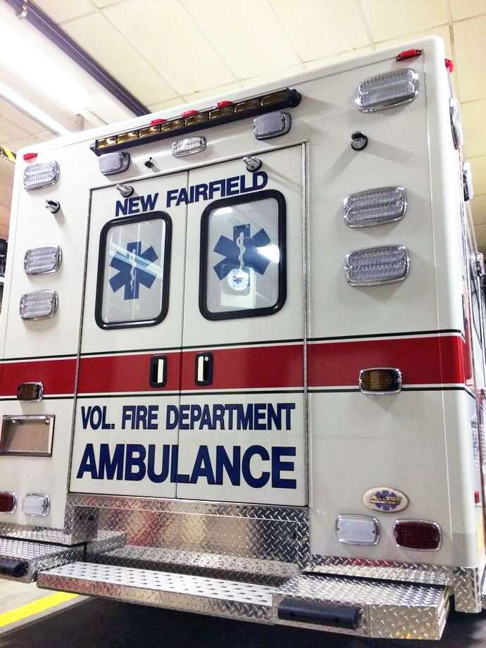 New Fairfield Volunteer Fire Department ambulance in 2014. Photo: New Fairfield Volunteer Fire Department / Facebook