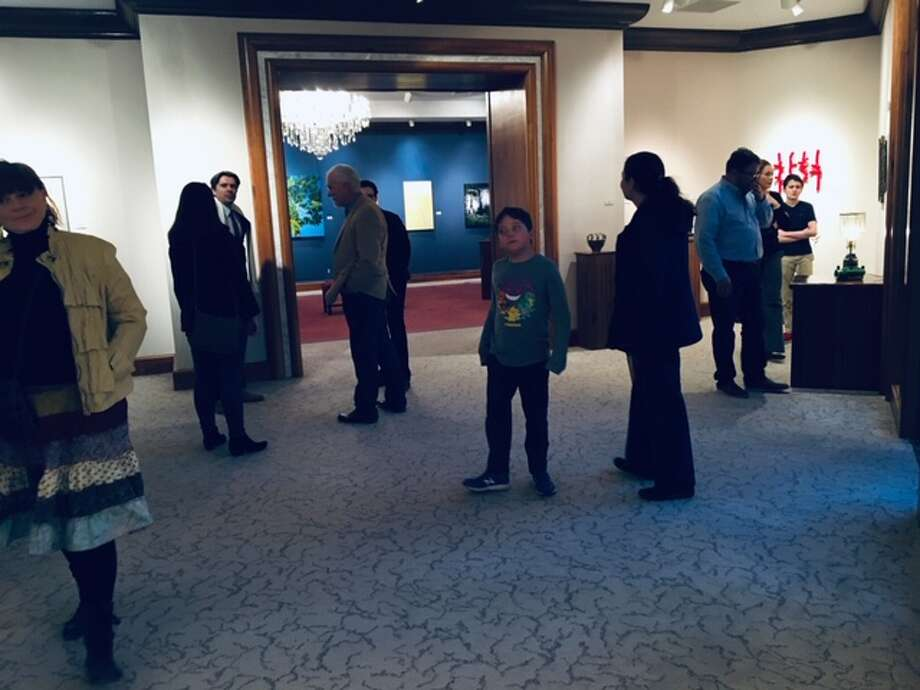 There's currently a faculty art exhibition on display at Wayland Baptist University. Photo: Courtesy Photo/WBU