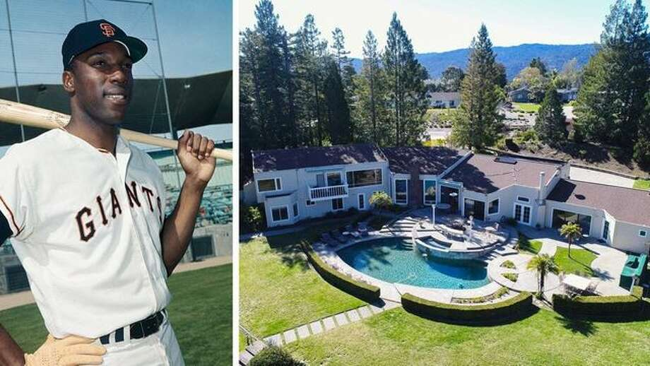 The home of baseball legend Willie McCovey was just sold for $4.2 million. It's located in the upscale Woodside community. Photo: Bettmann/Getty Images; Realtor.com