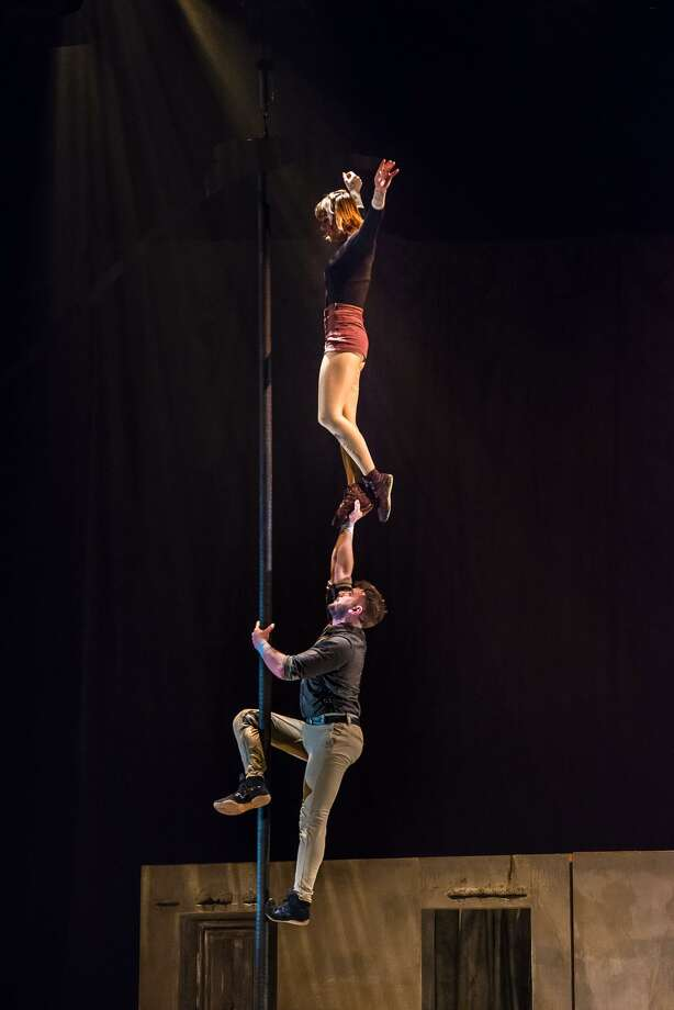 "Acrobats provide thrills in ""Reversible,"" coming to Foxwoods. Photo: 7 Fingers / Contributed Photo"