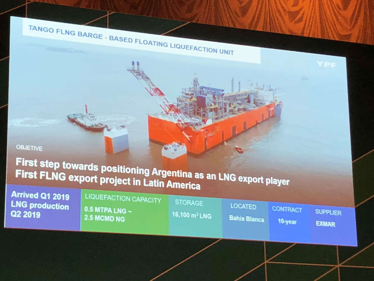 Argentinian energy company YPF plans to use the development of the Vaca Muerta Shale Play and offshore liquefied natural gas technology to allow South American nation to become an exporter of natural gas.