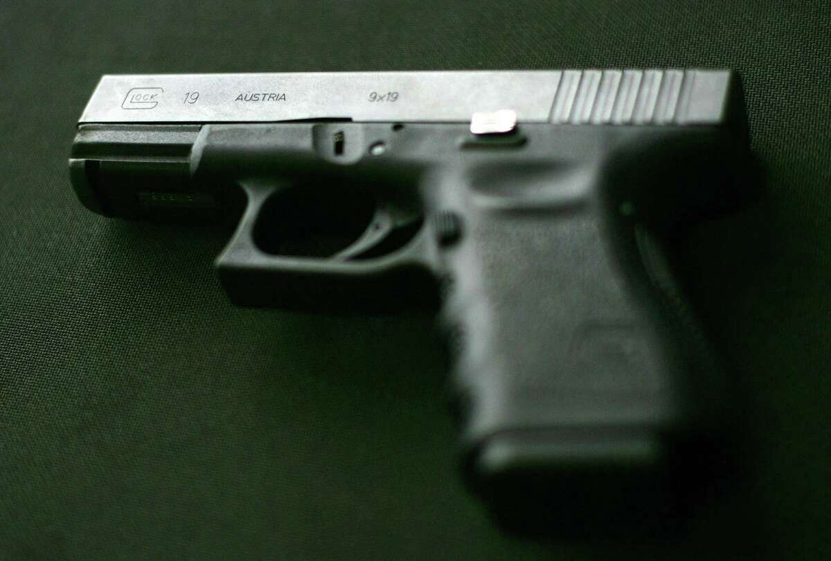 FILE - A Glock 9 mm handgun.