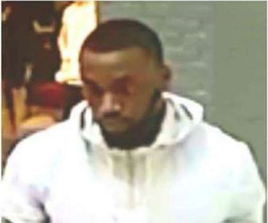 Montgomery County Sheriff's Office deputies say the man seen here is said to have fled a kiosk at The Woodlands Mall with an unpaid bracelet. Photo: Courtesy Of Montgomery County Sheriff's Office