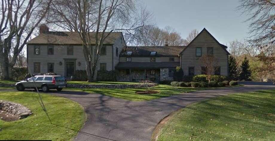 4 Brightfield Lane in Westport sold for $1,625,000. Photo: Google Street View