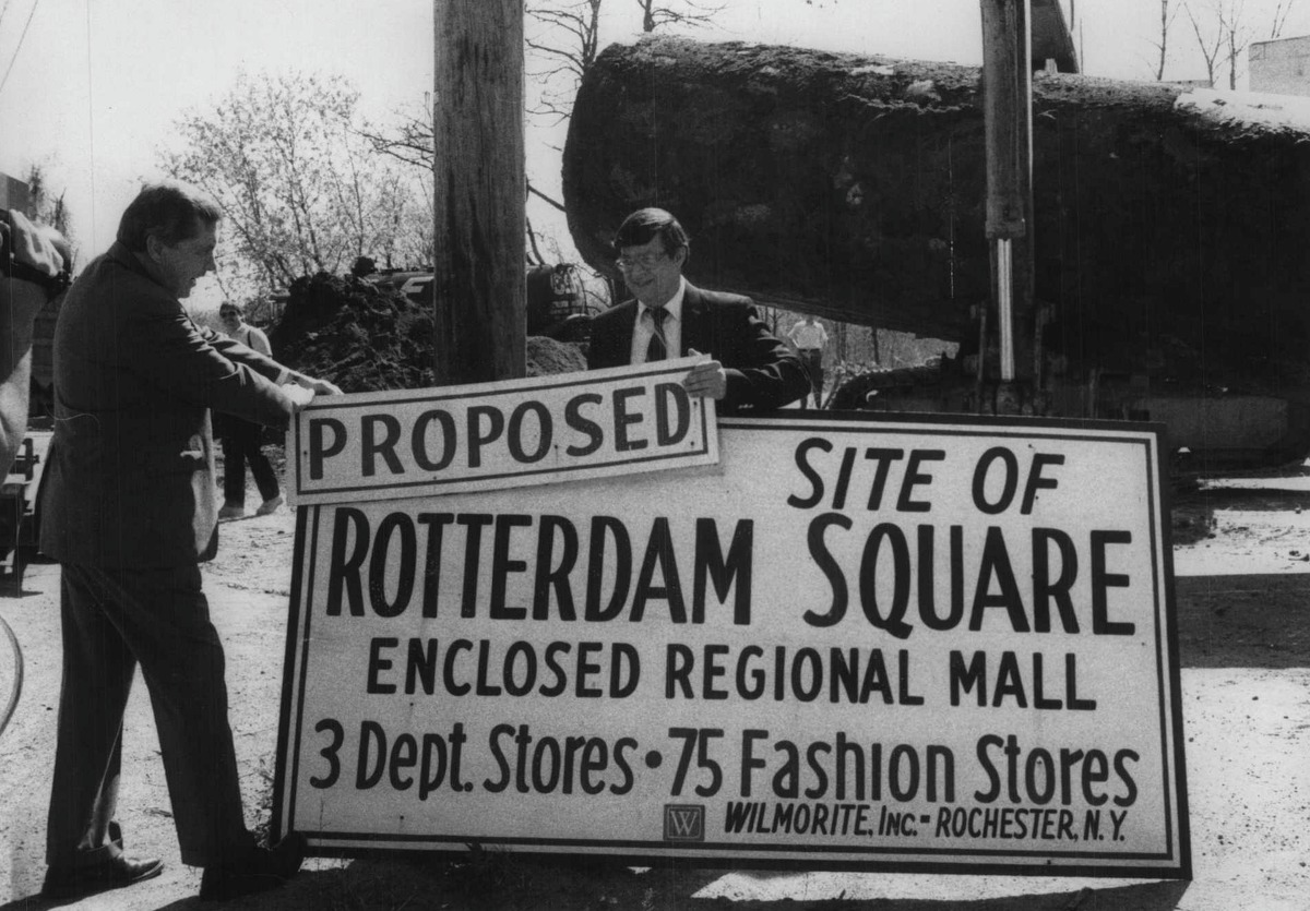Click through the slideshow spanning from Rotterdam Square Mall to ViaPort Rotterdam from the Times Union archives. Proposed location of Rotterdam Square Mall, New York. April 30, 1985 (Times Union Archive)