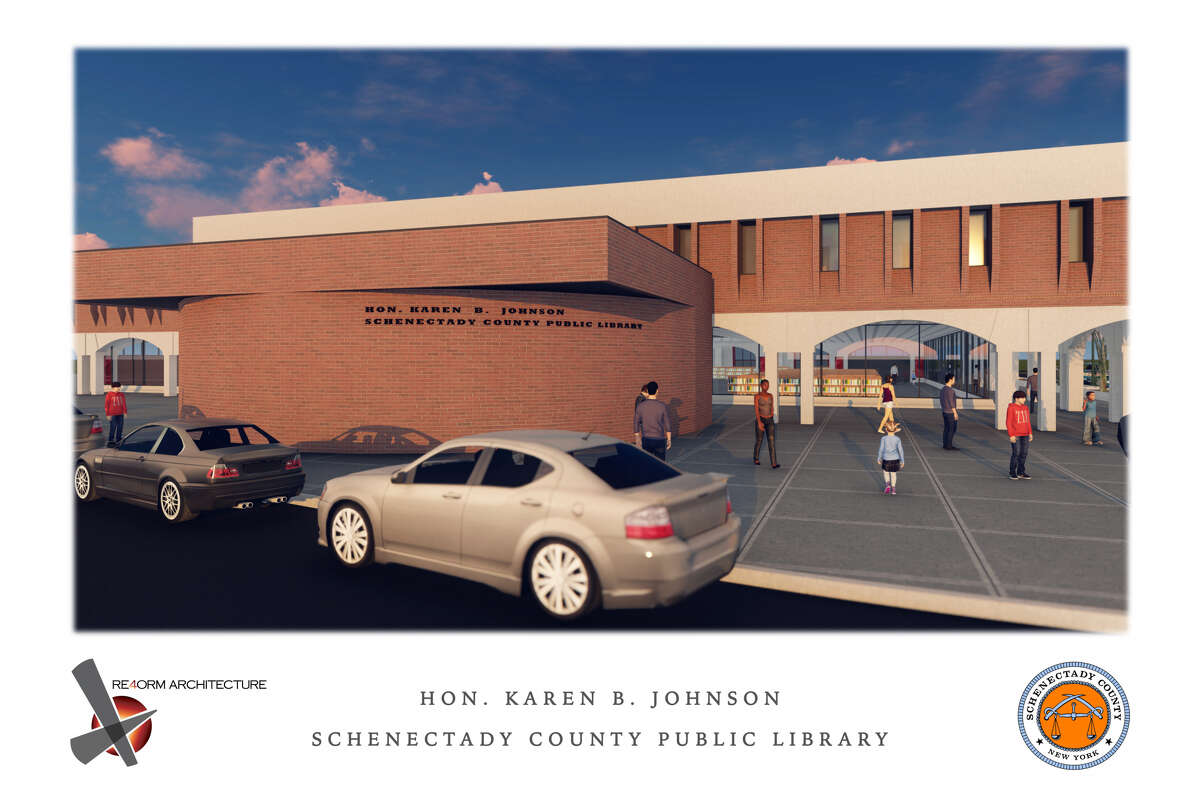 The Schenectady County library's main branch at Clinton and Liberty streets will be renamed for Karen Johnson, the city's former mayor and a county legislator.