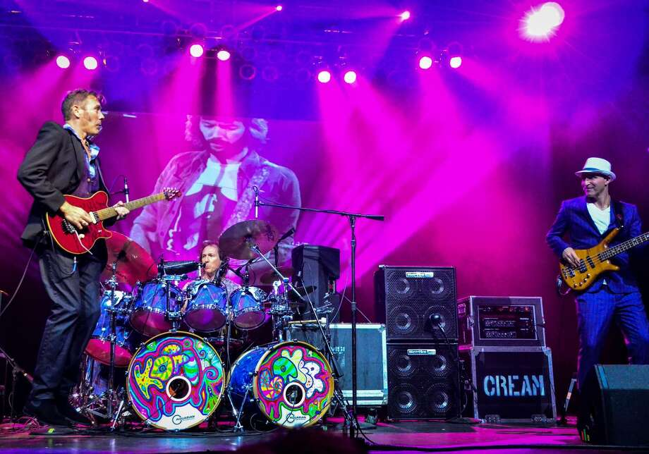 The pedigree of famed '60s rock trio Cream — Ginger Baker's son Kofi Baker, Jack Bruce's son Malcolm Bruce and Eric Clapton's nephew Will Johns — are returning to the United States this spring for a new leg of The Music of Cream — 50th Anniversary World Tour. The 23-date outing stops at Norwalk's Wall Street Theater March 23, and the Kate in Old Saybrook March 26. Photo: Christine Connallon / Contributed Photo
