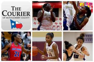 Montgomery's Deshayla Mallard, Willis' De'Janae Gilmore, Oak Ridge's Alecia Whyte, Magnolia West's Kamryn Jones and Willis' Jasmine Kelly are The Courier's nominees for Defensive MVP.