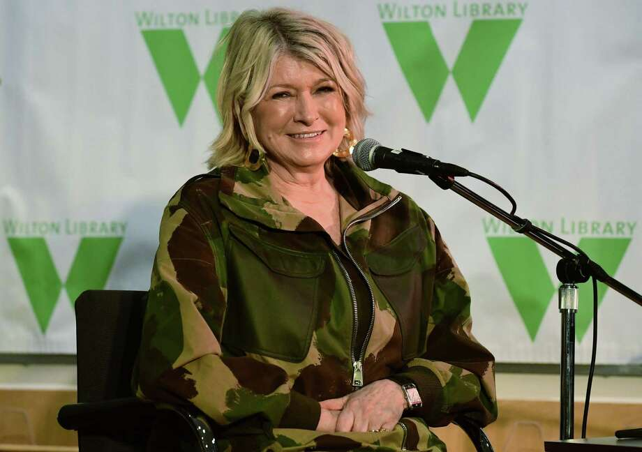 Martha Stewart visits the Wilton Library Tuesday, March 12, 2019, to sign copies of and discuss her book, The Martha Manual: How to Do (Almost) Everything, at the Wilton Library in Wilton, CT. Stewart has written dozens of bestselling books on cooking, entertaining, and homekeeping, and now has published a single, career-spanning book where readers can easily turn for all her essential life tips. A portion of the book sales will benefit Wilton Library. Photo: Erik Trautmann / Hearst Connecticut Media / Norwalk Hour