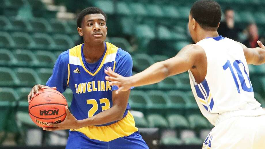 Texas A&M-Kingsville freshman Darius Mickens. A 2018 Willis High School graduate. Photo: Vladimir Cherry / Kingsville Athletlcs