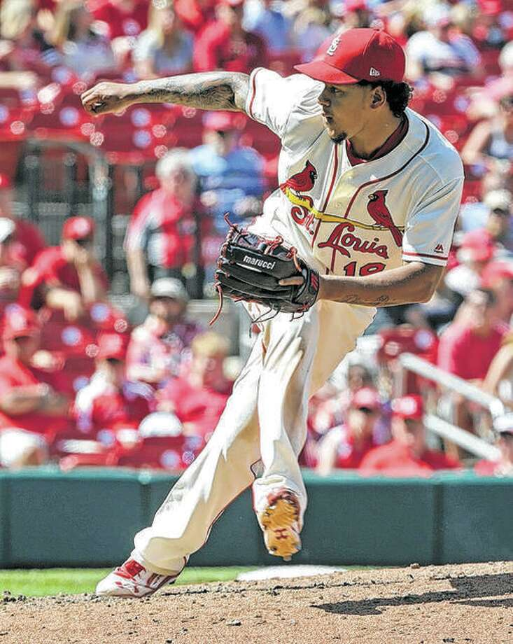 Pitcher Carlos Martinez Cardinals pitcher Carlos Martinez will begin the season on the injured list while recuperating from shoulder weakness. Martinez will not appear in exhibition games. He is to throw on flat ground for the next week before moving to a mound. Photo: AP Photo