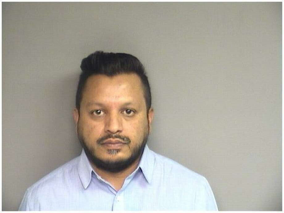 Rahul Masih44, of Yonkers, charged with opening Stamford bank accounts with forged license. Photo: Stamford Police / Contributed