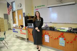 Samantha DeMatteo, chemistry teacher at Norwalk High School, was selected by University of Colorado Boulder staff to participate in creating Next Generation Science Standards lessons in chemistry utilized by educators across the country.