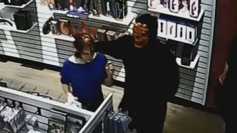 Assaults in adult stores in Tacoma and Puyallup are believed to be by the same person, according to police. They said it could be getting more dangerous. Photo: Surveillance Photo