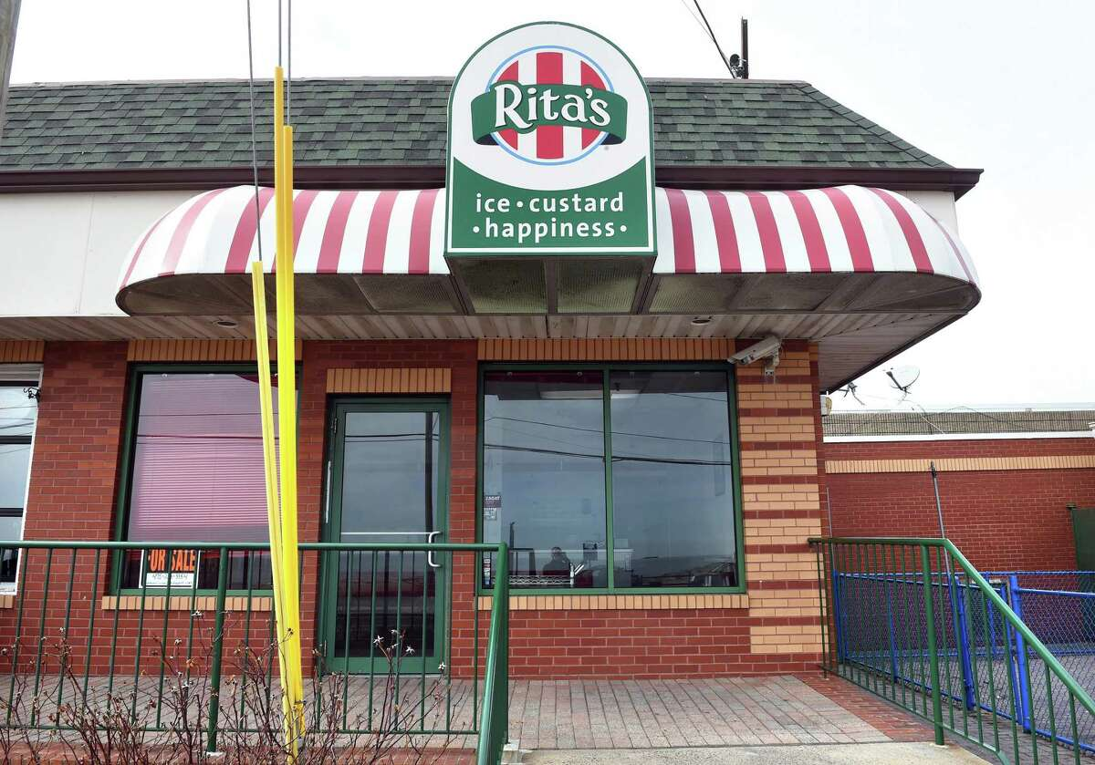 Rita's at 28 Ocean Avenue in West Haven is closed as photographed on March 13, 2019.