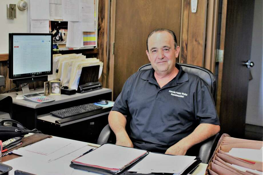 Ansonia's Public Works Director Mike D'Alessio will be featured in Connecticut Conference of Municipalities monthly magazine next month for his innovative ways to cut costs while keeping an eye on conservation. Photo: Jean Falbo