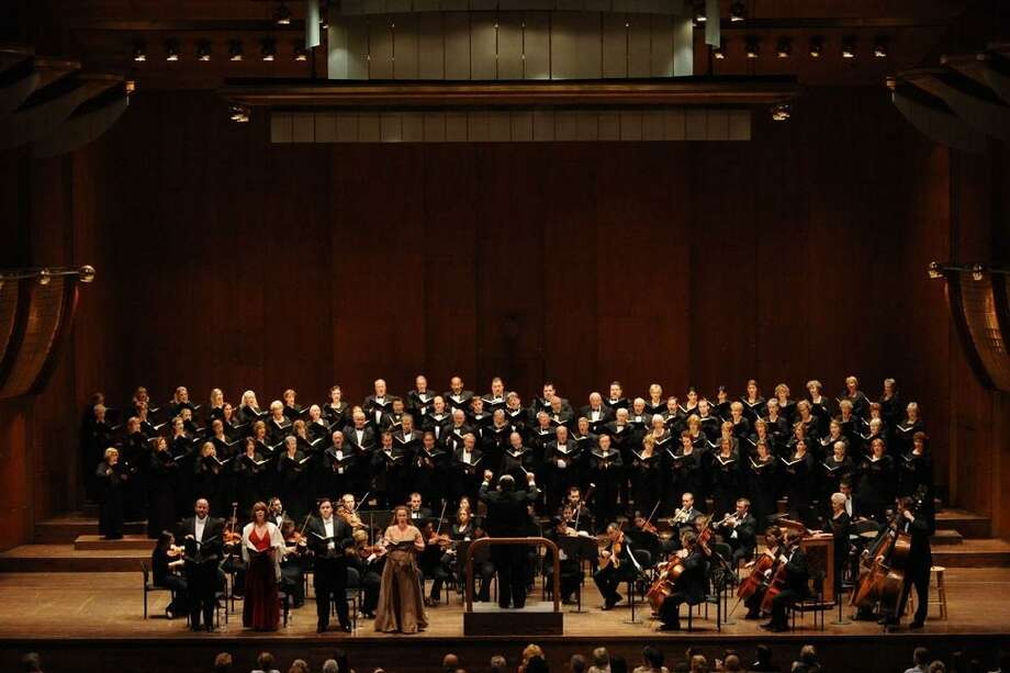 Members of the Tomball-based Texas Master Chorale were invited to perform at New York's Lincoln Center in June. Photo: Submitted Photo / Internal