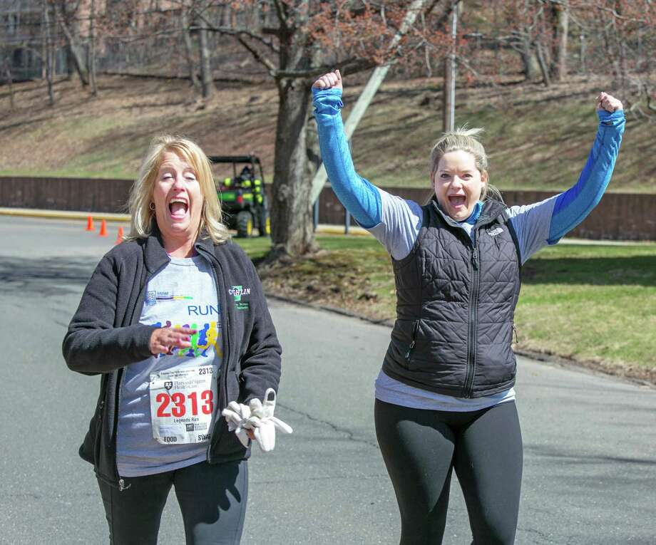 For several years, Gilead Community Services of Middletown has sent a growing team of staff, community members and clients to the Hartford Pilgrim Middletown 3.5- and 10-mile road races, which this year takes place April 7 downtown. Photo: Contributed Photo