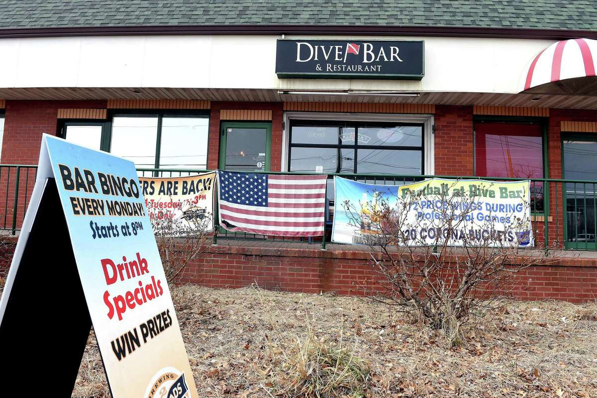 The Dive Bar & Restaurant on Ocean Avenue in West Haven photographed on March 13, 2019.
