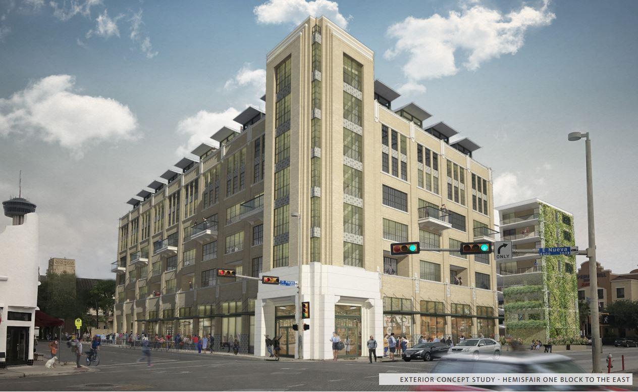 Eight Story Apartment Building Proposed Near La Villita In