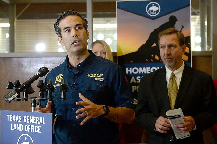 "A reader is disappointed in Texas Land Commissioner George P. Bush's reaction to the Express-News series ""Broken Trust."" Photo: Kim Brent / Beaumont Enterprise / BEN"