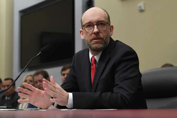 Office of Management and Budget Acting Director Russell Vought testifies before the House Budget Committee on Capitol Hill in Washington, Tuesday during a hearing on the fiscal year 2020 budget. Boiled down: The budget is heartless and whackadoddle.