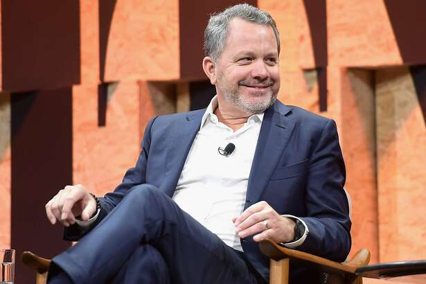 BEVERLY HILLS, CA - OCTOBER 03: Co-Founder and CEO of the Rise Fund and Co-Founder and Managing Partner of TPG Growth Bill McGlashan speaks onstage during Vanity Fair New Establishment Summit at Wallis Annenberg Center for the Performing Arts on October 3, 2017 in Beverly Hills, California.